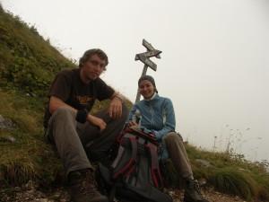 Auf dem Gipfel des Kozjak