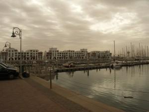 Das moderne Hafengebiet von Agadir