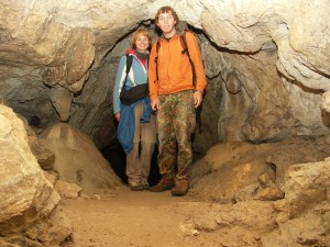 Höhlenexkursion in der Tolminka Klamm