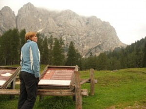 Im Schatten der Julischen Alpen auf dem Vrsic-Pass