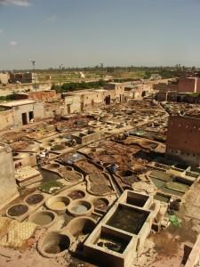 Gerberviertel in Marrakesch