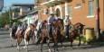 Pferdeumzug in San Miguelito