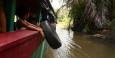 Mit dem Boot geht es in 3h von San Carlos in das Reservat Los Guatuzos.
