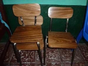 Stühle nach der Reparatur